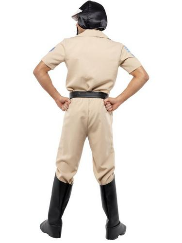 Village People Motorcycle Cop Fancy Dress Costume Thumbnail 3