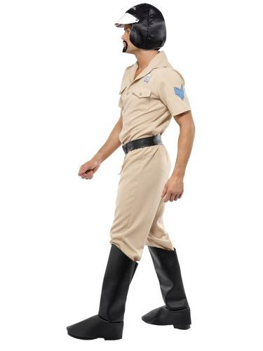 Village People Motorcycle Cop Fancy Dress Costume Thumbnail 2