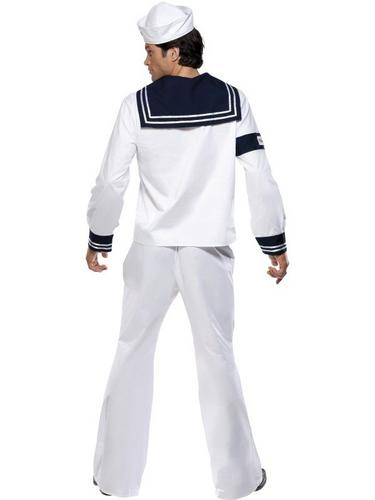 Village People Navy Fancy Dress Costume Thumbnail 3