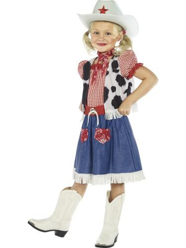 Cowgirl Sweetie Fancy Dress Costume Thumbnail 2