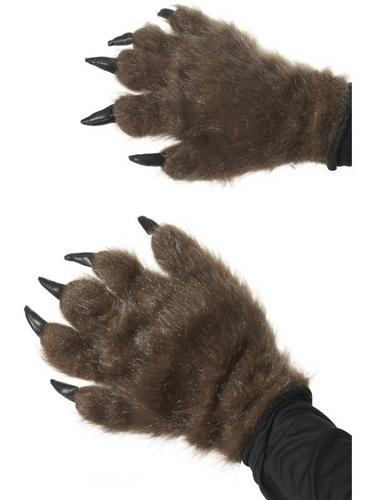 Brown Hairy Monster Hands Thumbnail 1