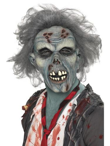 Decaying Zombie Fancy Dress Mask Thumbnail 1