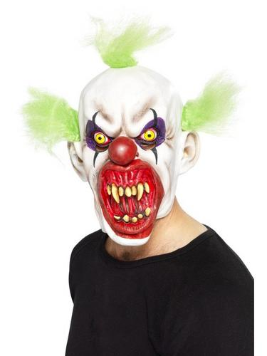 Sinister Clown Fancy Dress Mask Thumbnail 1