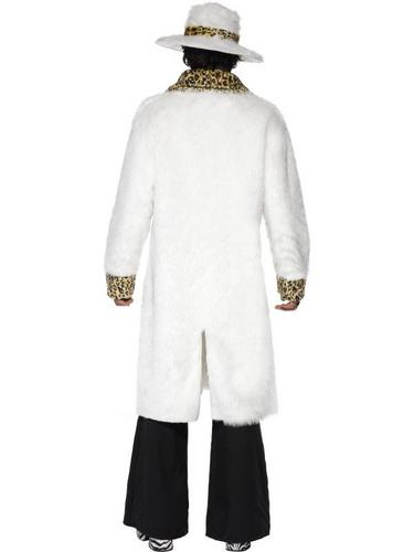 White Pimp Fancy Dress Costume Thumbnail 2
