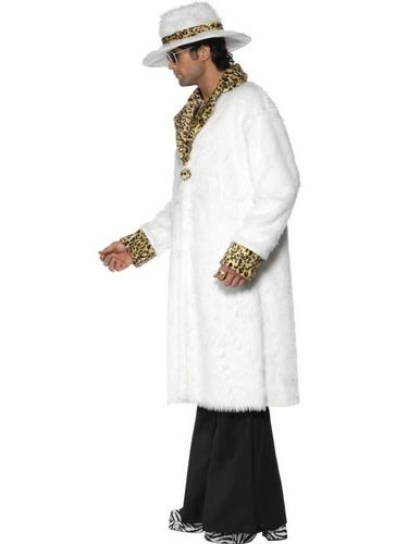 White Pimp Fancy Dress Costume Thumbnail 3
