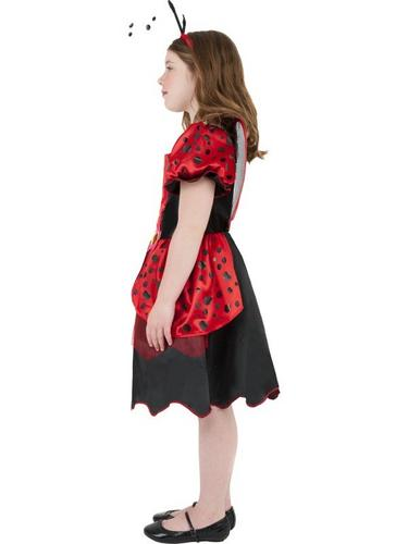 Girls Little Lady Bug Fancy Dress Costume Thumbnail 3