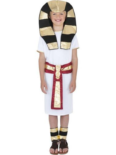 Boys Egyptian Boy Fancy Dress Costume Thumbnail 1