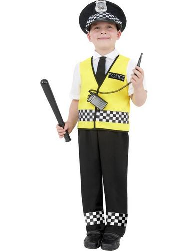 Police Boy Fancy Dress Costume Thumbnail 1