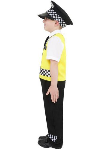 Police Boy Fancy Dress Costume Thumbnail 3