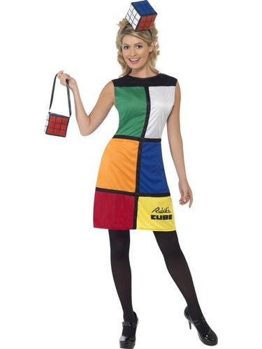 Rubiks Cube Fancy Dress Costume Thumbnail 1