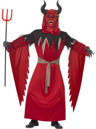 Devil Lord Fancy Dress Costume Thumbnail 1