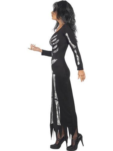 Skeleton Fancy Dress Costume Thumbnail 3