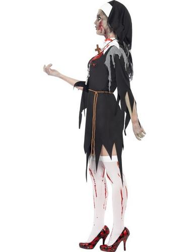 Zombie Bloody Sister Mary Fancy Dress Costume Thumbnail 3
