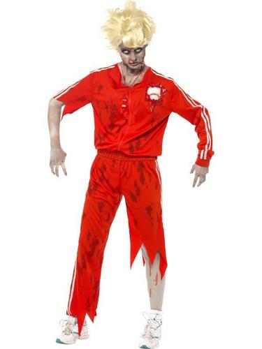 Zombie Sports Teacher Fancy Dress Costume Thumbnail 1