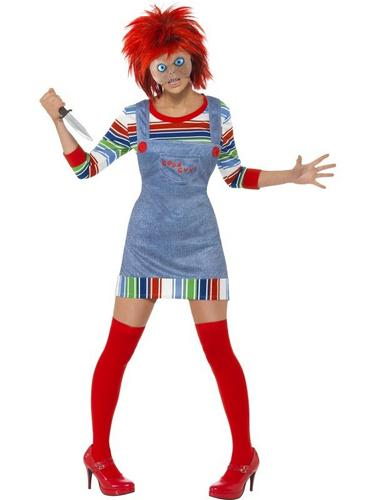 Female Chucky Fancy Dress Costume Thumbnail 1