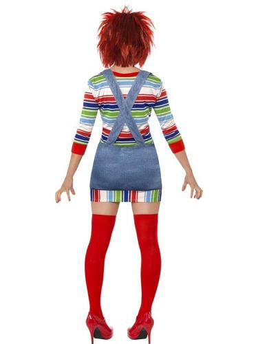 Female Chucky Fancy Dress Costume Thumbnail 2