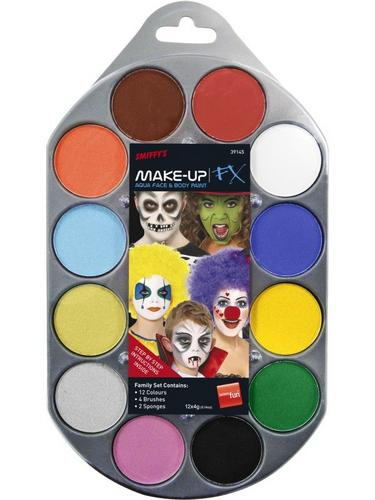 Makeup Pallet Face and Body Paint Thumbnail 1