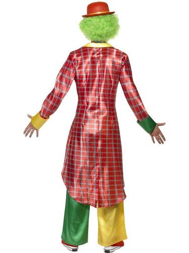 La Circus Deluxe Clown Fancy Dress Costume Thumbnail 2