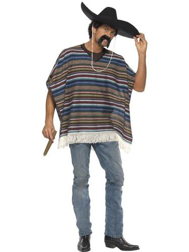 Authentic Looking Poncho Thumbnail 1