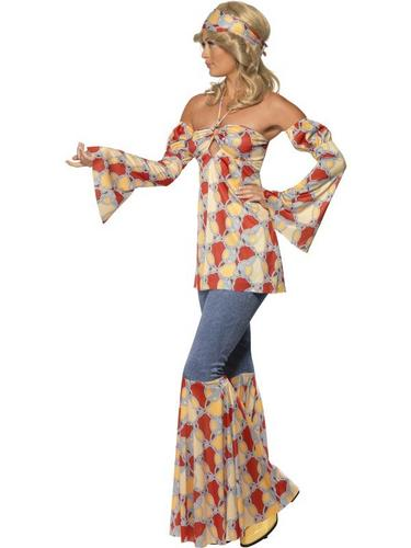 Vintage Hippy 1970s Fancy Dress Costume Thumbnail 3