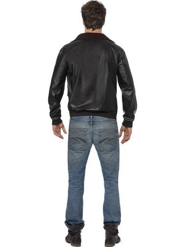 Top Gun Bomber Jacket Fancy Dress Costume Thumbnail 2