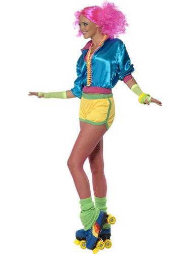 Skater Girl Fancy Dress Costume Thumbnail 3