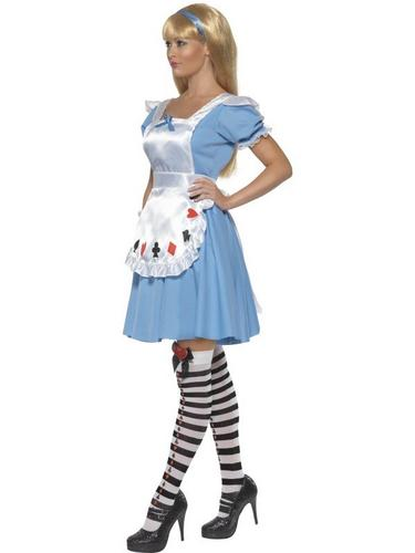 Deck of Cards Girl Fancy Dress Costume Thumbnail 3