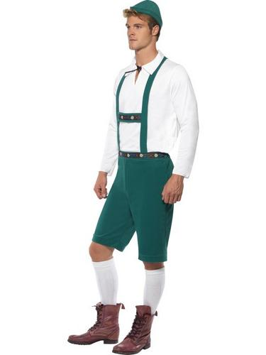 Male Oktoberfest Fancy Dress Costume Thumbnail 3
