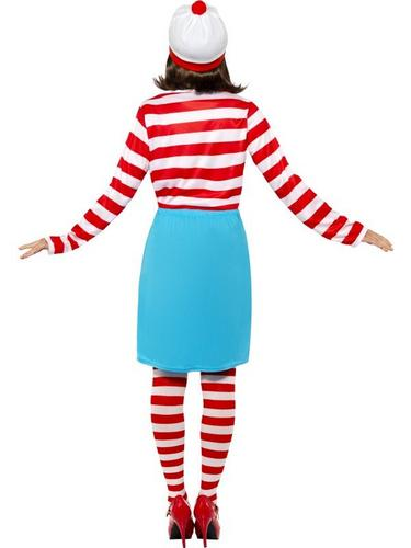 Wheres Wally Female Fancy Dress Costume Thumbnail 2