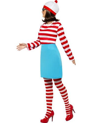 Wheres Wally Female Fancy Dress Costume Thumbnail 3