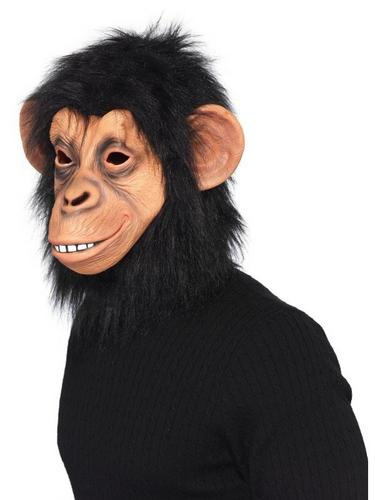 Chimp Fancy Dress Mask Thumbnail 1