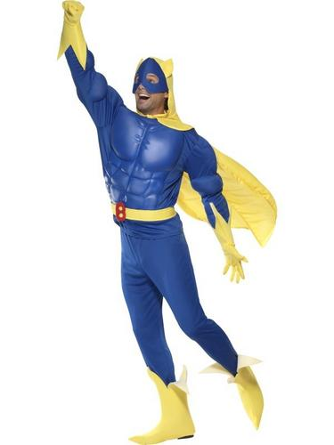 Deluxe Bananaman Fancy Dress Costume Thumbnail 2