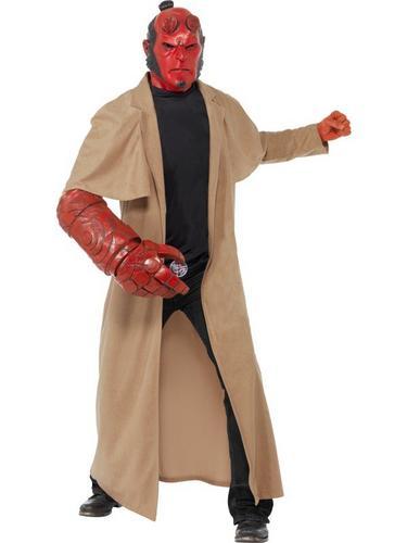 Hellboy Fancy Dress Costume Thumbnail 1