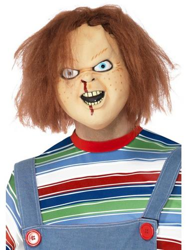 Chucky Fancy Dress Mask Thumbnail 1