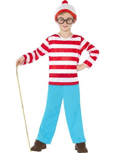Wheres Wally Child Fancy Dress Costume Thumbnail 1