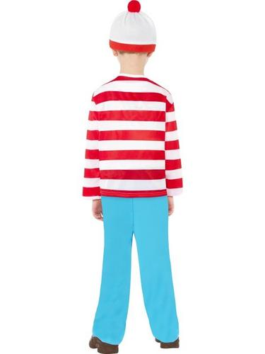 Wheres Wally Child Fancy Dress Costume Thumbnail 2