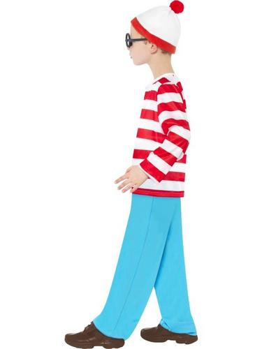 Wheres Wally Child Fancy Dress Costume Thumbnail 3