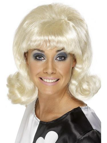 60's Flick Up Wig Blonde Thumbnail 1