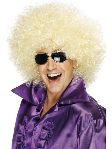 Afro Wig, Mega Huge Blonde Thumbnail 1