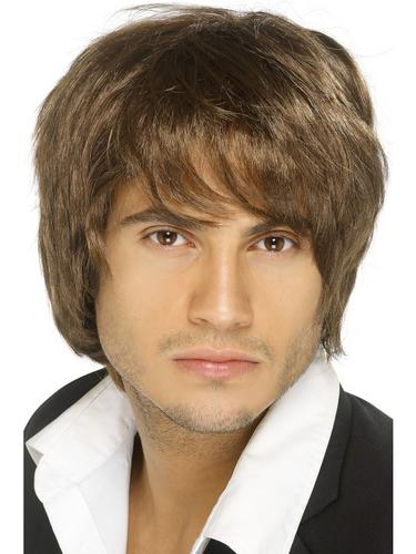 Boy Band Wig Brown Thumbnail 1