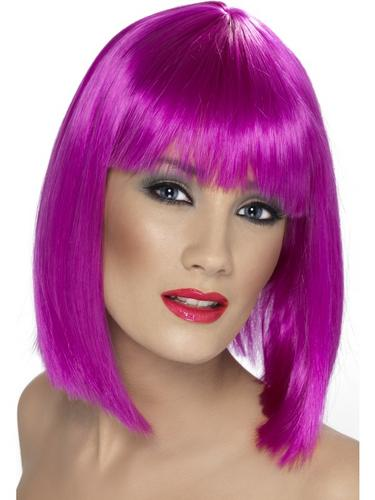 Glam Wig Purple Thumbnail 1