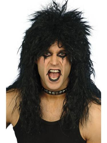 Hard Rocker Wig Black Thumbnail 1
