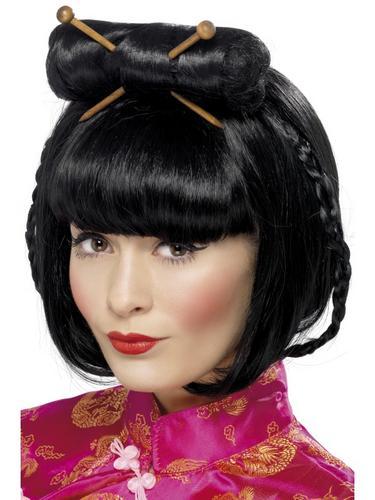 Oriental Lady Wig Thumbnail 2