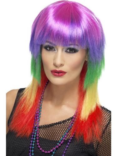 Rainbow Rocker Wig Thumbnail 1