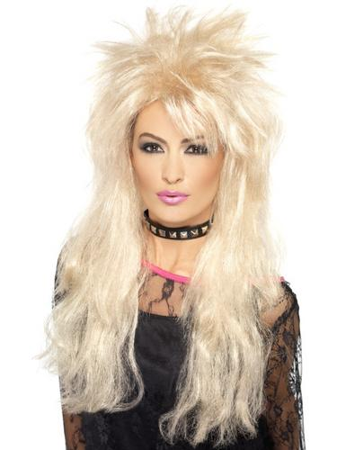 80's Long Mullet Wig Blonde Thumbnail 1