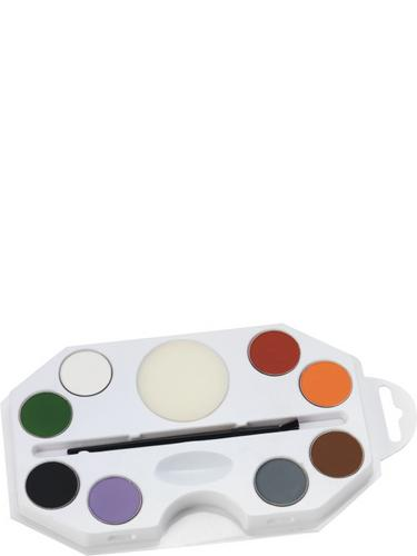 Halloween Aqua Face and Body Paint Kit Thumbnail 1