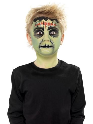 Halloween Aqua Face and Body Paint Kit Thumbnail 2