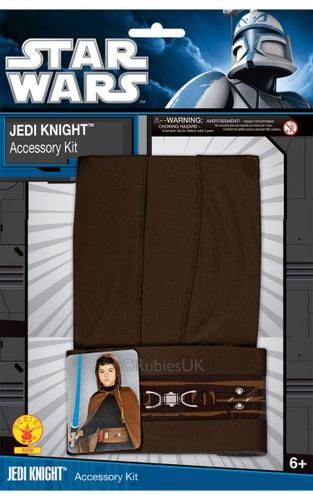 Kids Jedi Knight Fancy Dress Costume Blister Set Thumbnail 1