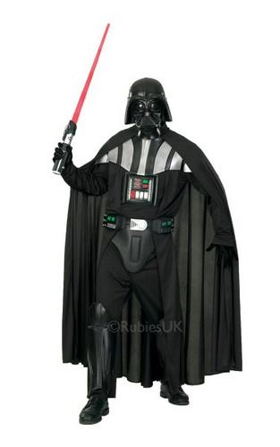 Deluxe Adult Darth Vader Fancy Dress Costume Thumbnail 1