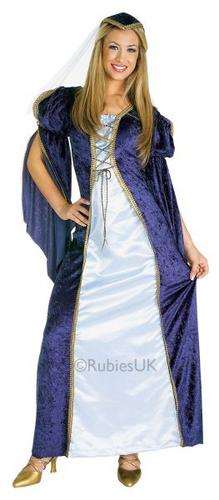 Juliet Fancy Dress Costume Thumbnail 1